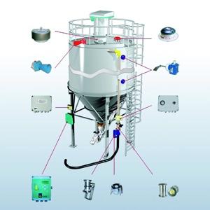 Système de sécurité des silos KCS de Wam Group. [©Wam Group]