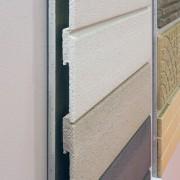 Une déclinaison verticale des tuiles en béton chez Vortex.