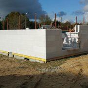 Une maison construite avec Lecobloc, un système constructif à double isolation signé France Bâti Innovation. [©France Bâti Innovation]