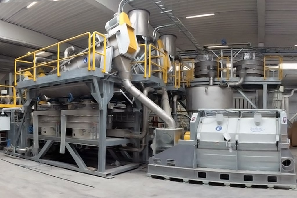 Deceuninck met en service une nouvelle installation de recyclage de PVC à Dixmude, en Belgique. [©Deceuninck]