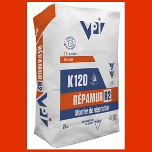 Doté d'une granulométrie très fine, le Répamur R2 K120 s'applique facilement. [©VPI]