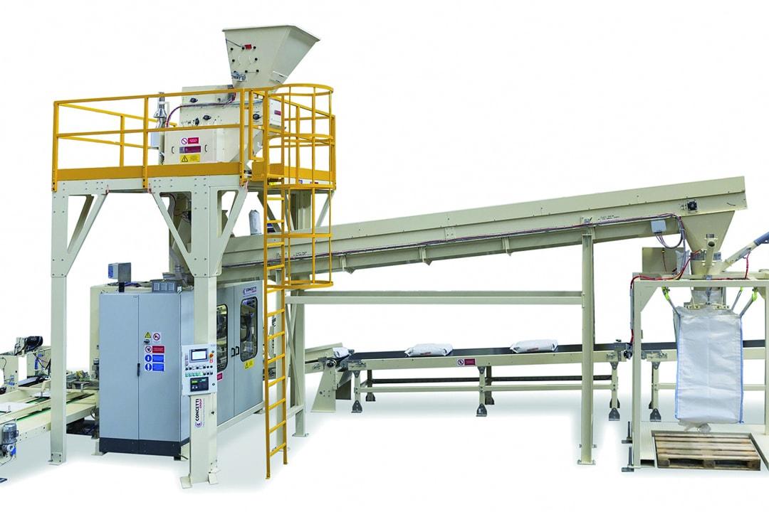Représenté par Prud'homme, l'industriel Concetti a développé des machines de base auxquelles la marque ajoute des options en fonction des besoins des clients. [©Prud'homme]