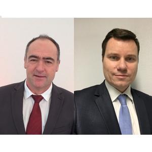 """Philippe Carrère et Laurent Regnier ont été respectivement nommés directeur régional et directeur de l'activité """"immobilier"""" de la direction régionale Occitanie d'Eiffage Construction [©Eiffage Construction]"""