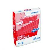 Le sac de plâtre Lutèce Rouge bénéficie d'une nouvelle formule. [©Placo]
