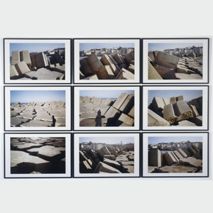 Kader Attia - Rochers Carrés, 2008. [©Adagp, Paris 2018/Jacques Faujour]