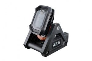 Pratique et ergonomique, la lampe BFL 18X à tête pivotante peut se détacher du support pour devenir une lampe d'inspection. [©AEG]