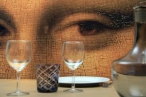 """""""3D Wall"""" vient bousculer les codes visuels de la toile tendue avec ses effets en relief."""