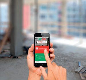 Parexlanko renforce son offre Parexplus avec deux applications mobiles digitales : Parextech et Parexkonso. [©Parexlanko]