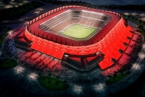La construction du stade de Recife (Nord-Est du Brésil), l'une des villes hôtes de la Coupe des Confédérations en juin et du Mondial-2014, est terminée.