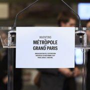"""Au Pavillon de l'Arsenal, exposition consacrée aux 153 projets urbains innovants, dans le cadre """"Inventons la Métropole du Grand Paris"""". [©MGP]"""
