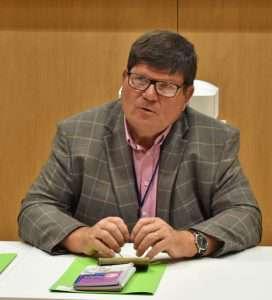Bruno Garabos a été réélu pour un second mandat à la présidence de l'Union des métiers du plâtre et de l'isolation de la Fédération française du bâtiment (UMPI-FFB). [©UMPI-FFB]