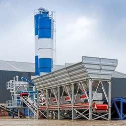La centrale C 300.0 de CBP est destinée à la production en continu de bétons maigres.