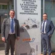 Marco Polastri, directeur vente, après-vente et marketing de Cifa, et Davide Cipolla, administrateur délégué de Cifa. [©ACPresse]