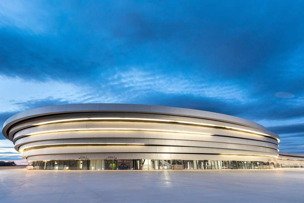 Stade Arena Pays d'Aix - Colas cède Smac à OpenGate Capital. [©Colas – Hervé Fabre]