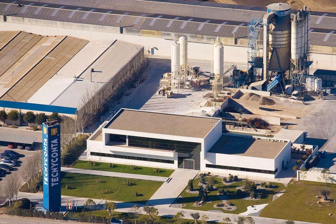 Le site de production de Consolis Tecnyconta à Tauste dans la région d'Aragon, en Espagne. [©Consolis Tecnyconta]