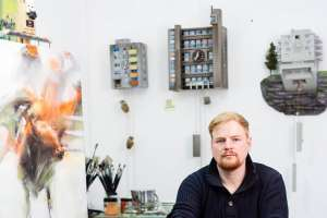 Guido Zimmermann transforme des coucous en constructions bétonnées… [©Jan Kaesbach]