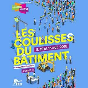 """Pendant """"Les Coulisses du bâtiment"""", du 11 au 13 octobre prochain, près de 200 chantiers et ateliers seront ouverts au public. [©FFB]"""
