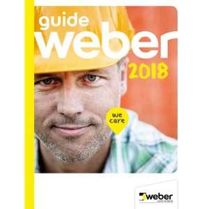 Le guide Weber 2018 pour les professionnels du bâtiment. [©Weber]