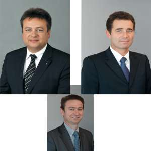 De gauche à droite : Wim Vangeenberghe, Denis Biossac et Frédéric PIgnard.