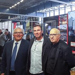 De gauche à droite, Jean Forte, directeur d'Atec, Régis Castillo, président du groupe EMCI, et Louis Sorace, directeur d'Acom Sorace.