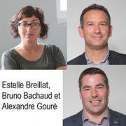 Estelle Breillat, Bruno Bachaud, Alexandre Gouré. [©Edycem]