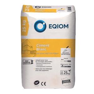 Eqiom propose son Ciment Blanc pour apporter de l'originalité sur le marché. [©Eqiom]