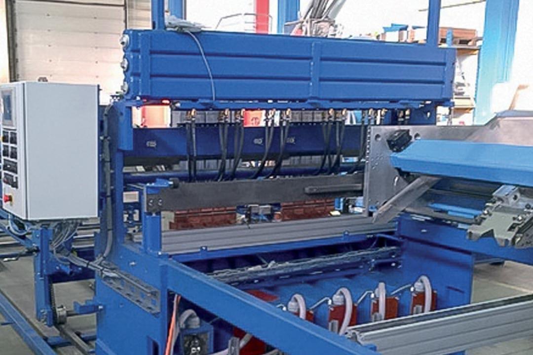Les soudeuses à treillis de Filaprefa sont fabriquées sur mesure. [©Filaprefa]