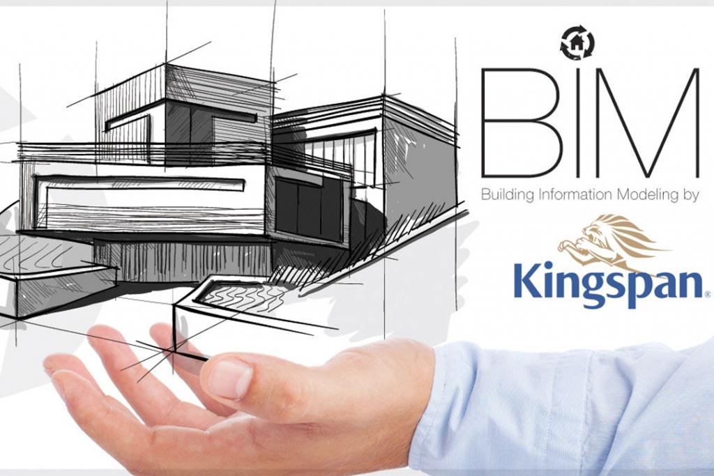 Kingspan dispose désormais de son catalogue d'objets BIM. [©Kingspan]