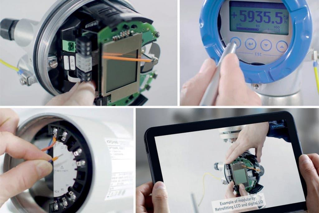 Krohne dédie une chaîne YouTube à ses appareils pour une bonne mise en route de ses solutions. [©Krohne]