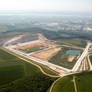 La carrière de Saint-Vigor-d'Ymonville, près du Havre, est une place essentielle dans la gestion des déblais du Grand Paris. [©Lafarge France]