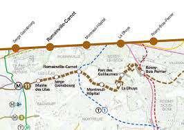 L'extension de la ligne 11 reliera la mairie des Lilas à Rosny-sous-Bois. [©DR]