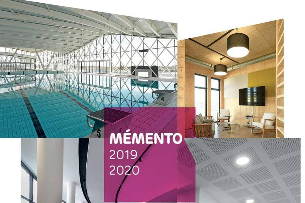 """-Le mémento """"Plaques 2019-2020"""" de Siniat est une véritable """"bible"""" des pros de la plaque de plâtre. [©Siniat]"""
