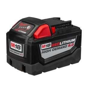 La batterie M18 permet à la gamme d'outil de Milwaukee de gagner 40 % d'autonomie par rapport aux précédentes générations. [©Milwaukee]