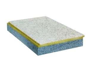 Le nouveau panneau Stisolith Ultra LR Meca de Placo ne comporte plus de laine de bois. [©Placo]
