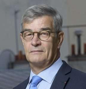 Pierre Cavin a été réélu la présidence de Routes de France. [©Routes de France]