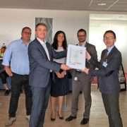 Filiale de Saint-Gobain, Placo vient d'être certifiée ISO 45001, première norme internationale sur l'amélioration de la santé et la sécurité au travail. [©Placo]