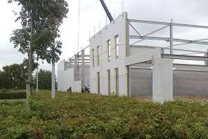 Le panneau IP PIR 022 de Recticel Insulation permet aux industriels d'imaginer de nouvelles solutions préfabriquées. [©Recticel Insulation]