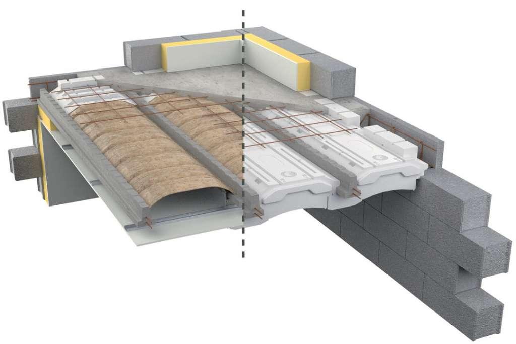 Rector a obtenu une Fiche d'exemples de solutions techniques (Fest) au référentiel Qualitel Acoustique pour son plancher béton Equatio dB. [©Rector]