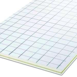 La solution de Rehau permet à un seul homme de poser le plancher chauffant, tout en gagnant jusqu'à 50 % de temps de mise en œuvre. [©Rehau]