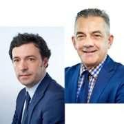 De gauche à droite, David Cade et Claude Le Fur. [©Sika]