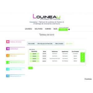 Le nouveau site de la marque Louineau centralise les informations relatives aux solutions de l'entreprise. [©Louineau]