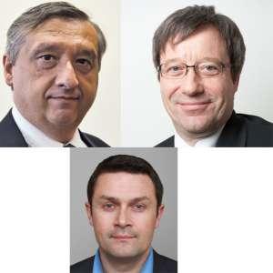 Manuel Rodriguez, Philippe Gérard et François Challamel.