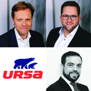 Jochen Friedrichs devient président directeur général et Joaquin Lozano Agramunt (également directeur financier) et Björn Baum (aussi directeur industriel) sont nommés directeurs généraux. [©Ursa]