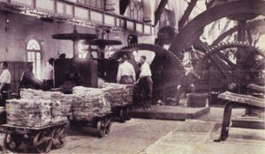 Usine du site de Viviez dans les années 1920. [© VMZinc ]