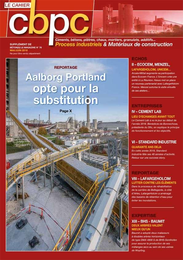 CBPC supplément de Béton[s] le Magazine dédié au process industriel
