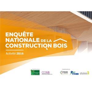 Enquête nationale 2016 sur l'état de la construction bois. [©Codifab]