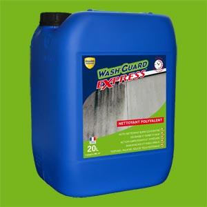 Guard Wash Express permet de nettoyer et de désincruster sans altérer les surfaces. [©Guard Industrie]