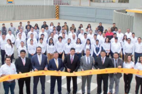Avec l'inauguration de son usine de Lucumo, Sika va tripler sa production au Pérou. [©Sika]
